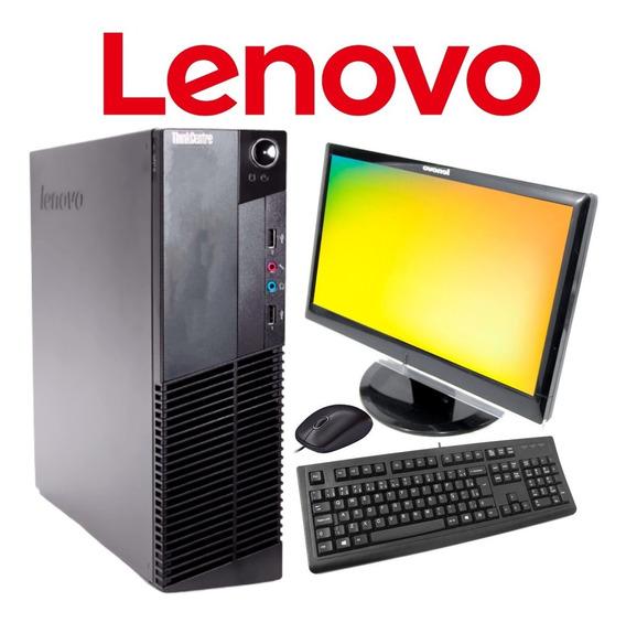Computador Lenovo I5 2ªger 4gb S/ Hd + Monitor + Brinde