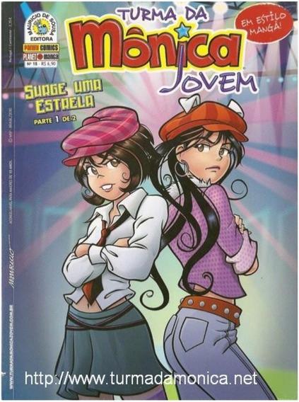 Kit Turma Da Monica Jovem - Vol 18 E 19 - Surge Uma Estrela
