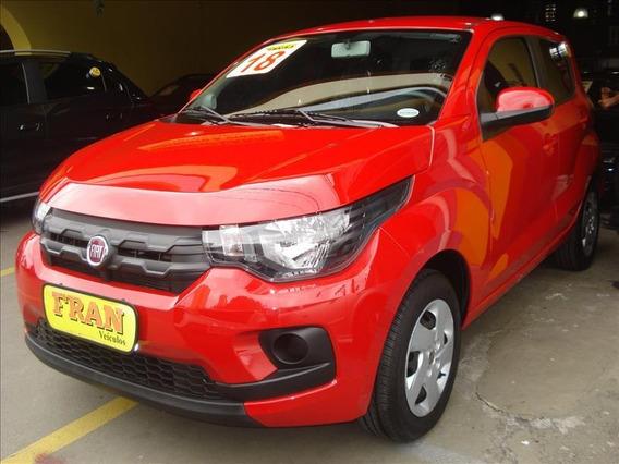 Fiat Mobi Like Motor 1.0 2018 Vermelho