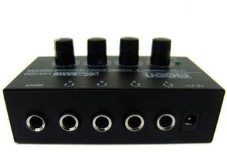Amplificador De Auriculares Moon Ha400 Ganancia Independient