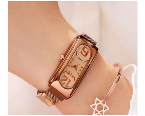Relógio Elegante Eu Te Amo Diferente E Elegante - Presente