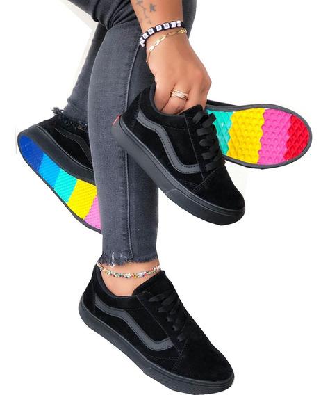 Tenis Zapatillas Vans Clasic Tallas De Hombre, Mujer, Niños