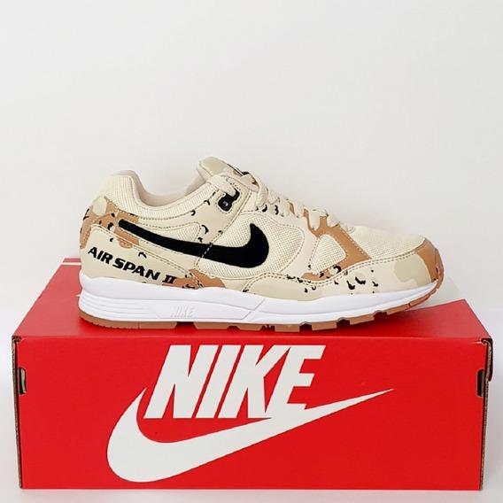 Tênis Nike Air Span Ii Prm Creme Original