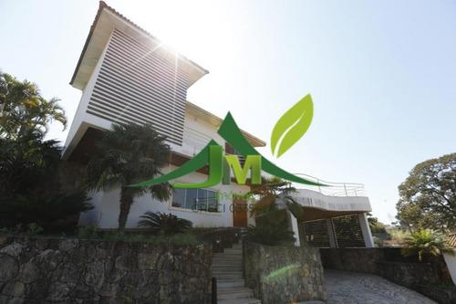 Casa Em Atibaia Condomínio Fechado Alto Padrão - 734