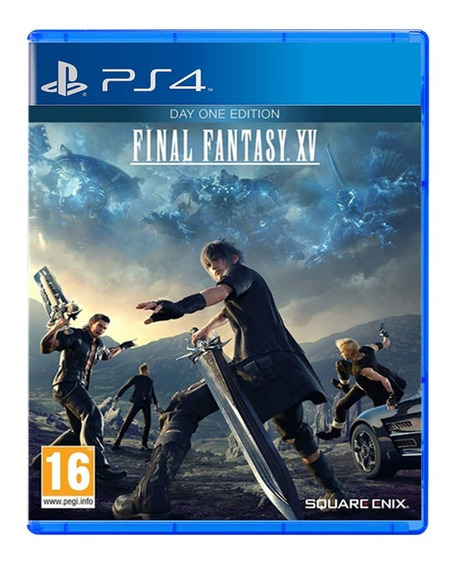 Final Fantasy Xv - Ps4 - Day One - Novo - Mídia Física