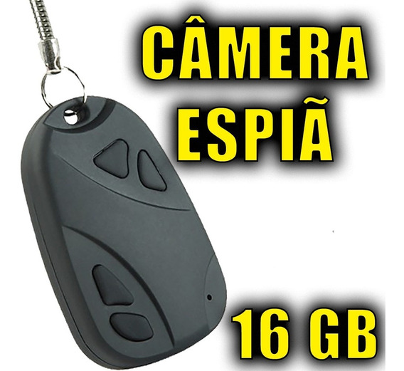 Mini Camera Filmadora Para Motos Escondida Casa Dvr 16gb
