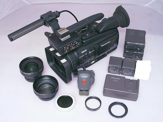 Filmadora Pro Panasonic Ag Hmc 40p Completo Acessorios