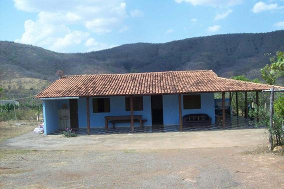 Fazenda Com 98 Hectares Em Felixlândia Mg. Perto Da 040 , Apenas 07 Klm Terra, Pasto Formado , Casa Boa , Piscina. - 314