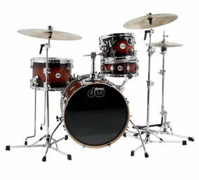 Bateria Dw Design Kit Pro 4 Pcs