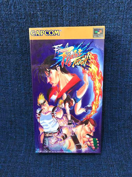 Final Fight Tought Shvc-afzj-jpn Famicom 100% Original C Cx