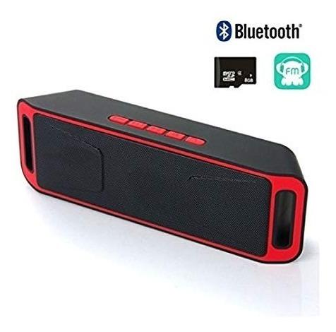 Corneta Bluetooth Recargable Memoria Aux