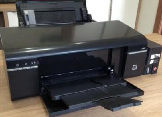Impressora Epson L800 Cd E Dvd + Brinde Na Descrição