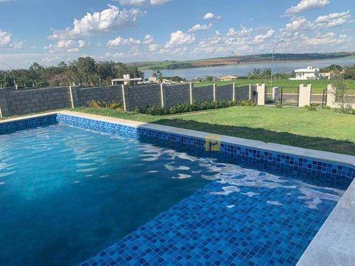 Casa Com 3 Dormitórios, 320 M² - Venda Por R$ 2.200.000,00 Ou Aluguel Por R$ 14.000,00/mês - Residencial Jardim Barra Do Cisne I - Americana/sp - Ca0956