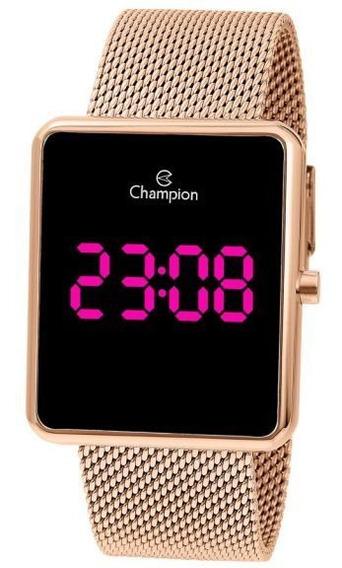 Relógio De Pulso Digital Champion Ch40080h