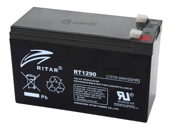Batería Ciclo Profundo Ritar Agm Gel 12v 9ah Solar Ups