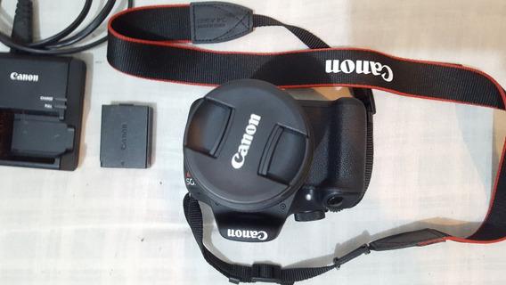 Canon T5 + Lente + Bolsa