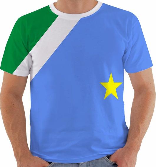 Camiseta 1825 Bandeira Estado Do Mato Grosso Do Sul Color