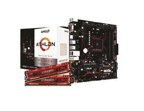 Kit Amd Athlon 200ge Asus Prime B450m G 2x 4gb Bls 2400mhz
