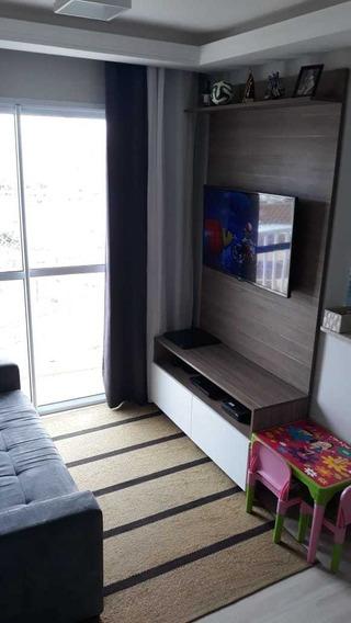 Apartamento 48m, 2 Dormitórios, 1 Banheiro E 1 Vaga Garagem