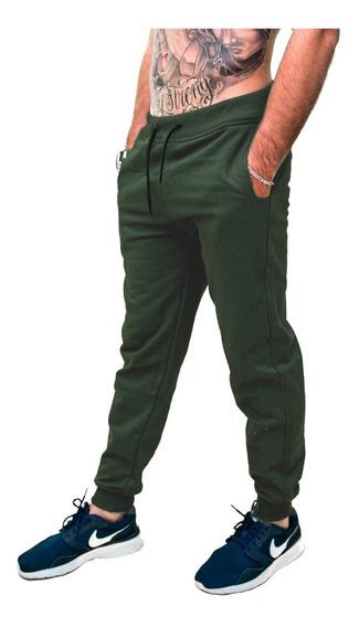 Calça Moletom Masculina Jogger Saruel Skinny Slim Fit