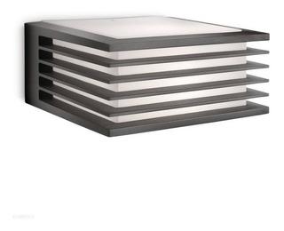 Aplique Pared Bidireccional Cuadrado Negro Moderno E27