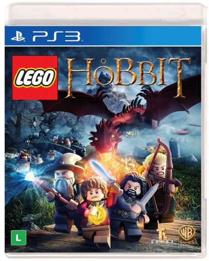Lego O Hobbit The Video Game Ps3 Mídia Física Português