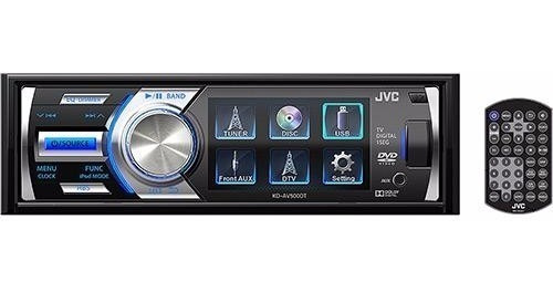Dvd Cd Jvc Kd-av300 Tela 3 Mp3 Wma Aux Usb iPod/iPhone