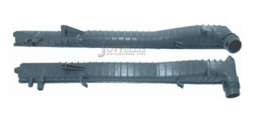 Caixa Superior Radiador Bmw X5 2 Bocais