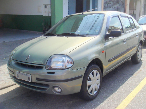 Renault Clio Sedan Rn 1.0 16v Gasolina Completo