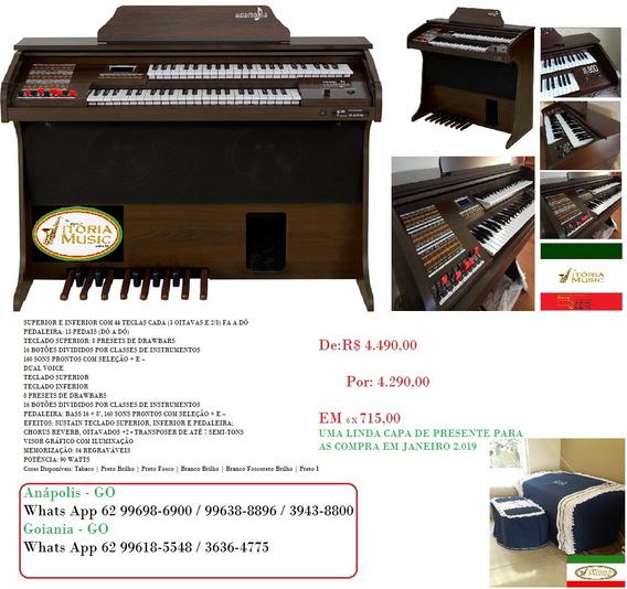 Orgão Elet. Harmonia Hs-90d (lancamento)