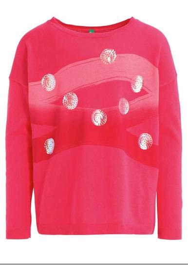 Sweater Nena Benetton Talle 3 A 4 Años