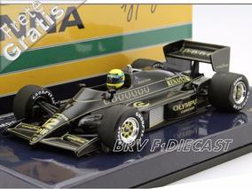 1/43 Minichamps Lotus Renault 97t Turbo Ayrton Senna F1 1985