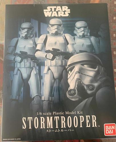 Star Wars Plastic Model Stormtrooper Bandai 1/6 O 30 Cms Nvo