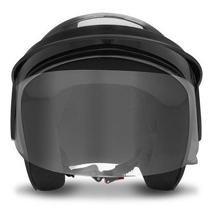 Capacete Moto Storm Tam. 58 Preto Brilhante Promoção!