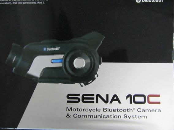 Sena 10c 1080 Intercom Y Cámara Para Casco De Moto Toys4boys
