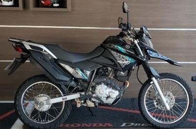 Motocicleta Yamaha Xtz Crosser 150 Preta 2018