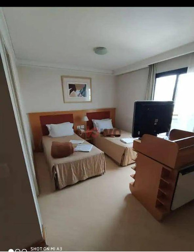 Imagem 1 de 11 de Flat Com 1 Dormitório À Venda, 30 M² Por R$ 250.000,00 - Vila Mariana - São Paulo/sp - Fl0017