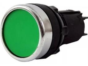 Botão De Comando Pulsador 1na 1nf La39j-11g Verde ,verm Amar