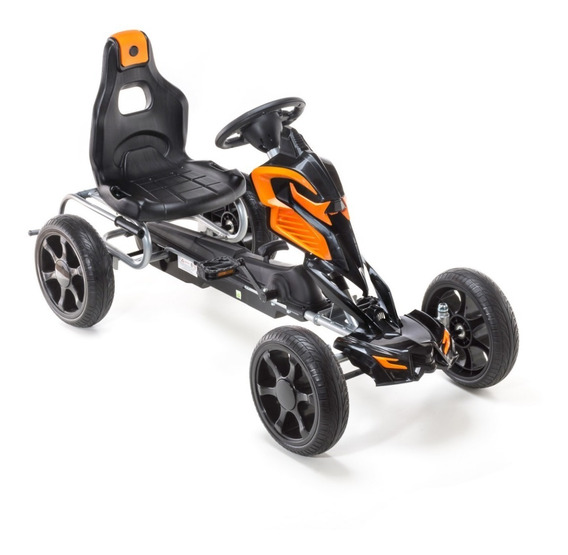 Karting Infantil A Pedal Para Niños Gigantes 4 A 8 Años