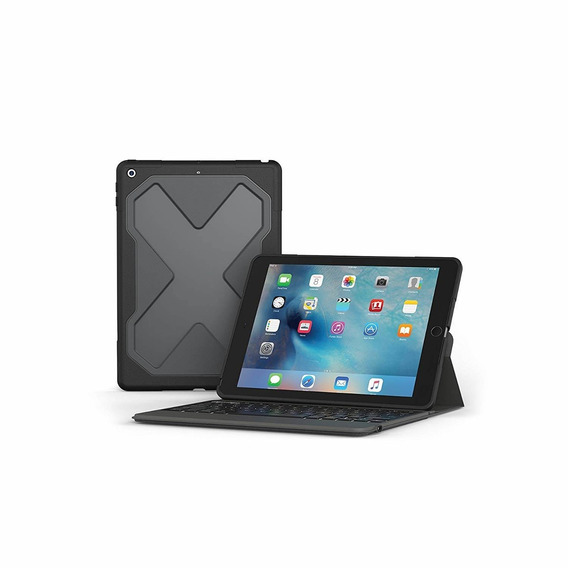 Zagg  Rugged Messenger  Backlit Case And Bluetooth Ke