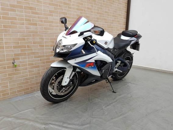 Suzuki Gsx-r750 Branca 2012
