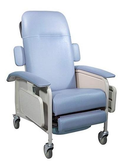 Sillón Para Hemodiálisis Con 2 Charolas Marca Drive Medical