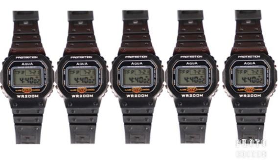 Kit 5 Relógio Bolsonaro Digital Prova D