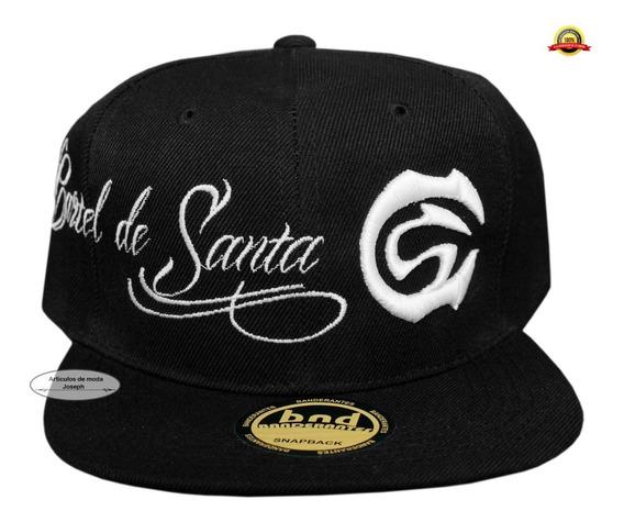 Cartel De Santa Gorra Babo Rap Hip Hop Cachucha Black Musica