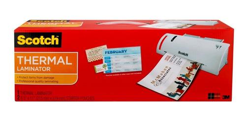 Scotch Plastificador Laminador Térmico A4 Documentos Fotos $