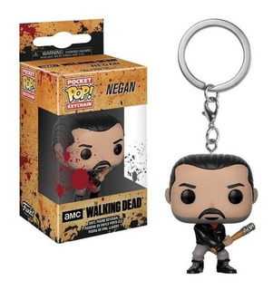 Funko Pop! The Walking Dead Negan Keychain Envio Incluido