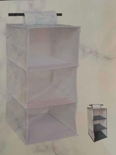 Imagen 1 de 2 de Organizador De Ropa Tela Armable Interior 30x30x60