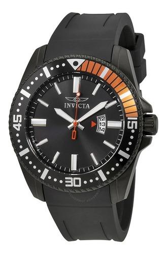 Relógio Invicta Esportivo Preto Masculino Importado Original