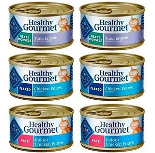 Azul Buffalo Healthy Gourmet Natural Alimentos Para Gatos 3