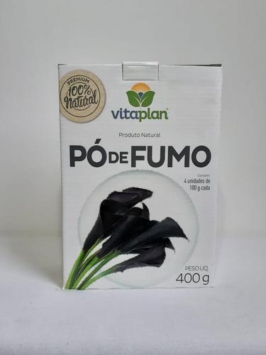 Pó De Fumo Natural Para Plantas - 400g Vitaplan